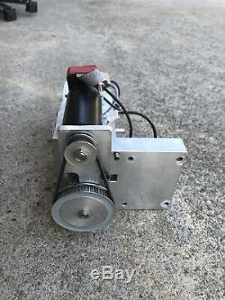 CNC Axis, DC Motor, Linear Bearing Spindle Mount, Router, Mill, Heavy Duty