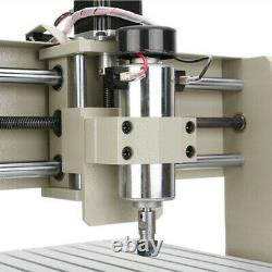 CNC Router 4 Axis USB 3040 Engraving Mill Engraver Machine Metal Wood Cut 400W