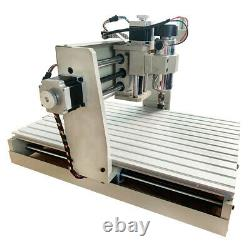 CNC Router Engraver 4 Axis USB 1.5KW VFD 6040 CNC Engraving Drilling Milling US