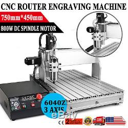 CNC Router Engraver Milling Machine Engraving Drilling 3 Axis 6040 Desktop