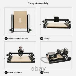CNC Router Machine 4040-XE 300W Spindle 3-Axis Engraving Milling Machine for Wo
