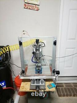 CNC Router / Mini-Mill 4 Axis, 5 Axis READY TO RUN