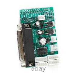 CNC Set 4 Axis Breakout Board & DM432 Stepper Motor For DIY Router/Mill/Plasma