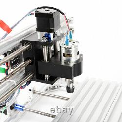 CNC3018 Router Kit 3Axis Engraving Wood Milling Machine GRBL Control 12W Spindle