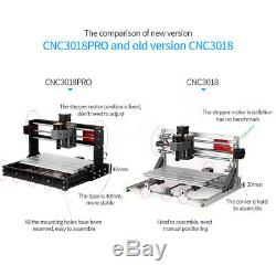 CNC3018PRO DIY Wood Router Engraving 3 Axi. S Pcb Milling Machine & 5500mW W9T2