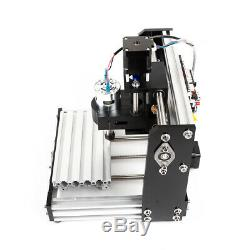 DIY 3 Axis Mini Mill USB CNC Router Wood Carving Engraving PCB Milling Machine
