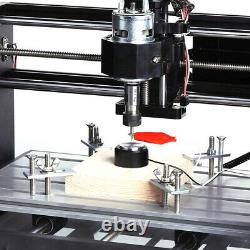 DIY CNC 3018-MX3 Machine 3 Axis Router Engraving PCB Wood Mill+500mw Laser Head