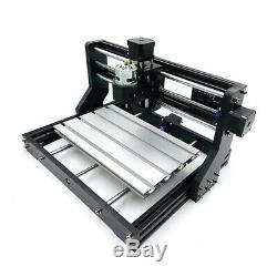 DIY CNC 3018Pro Router Laser Engraving Milling Machine 3 Axis+5500mW Laser Head