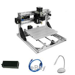 DIY CNC Router Kits 2418 GRBL Control 3 Axis Carving Milling Engraving Machine
