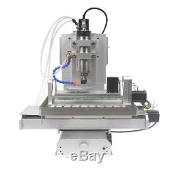 HY-3040 5 Axis 2200 w CNC Aluninum Router Machine for Drilling, Milling Machine