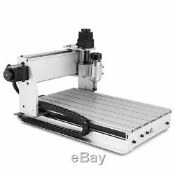 Hot 4 Axis 3040T CNC Router Engraver 3D Engraving Machine Drilling Milling Wood