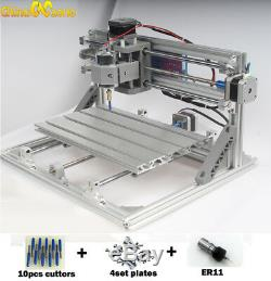 MINI CNC 3018 3 Axis Engraver Machine For PCB Wood Carving DIY Milling Machine