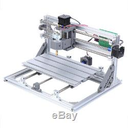 Mini 3 Axis 3018 CNC Laser Machine Carving Milling Router Engraver GRBL Control