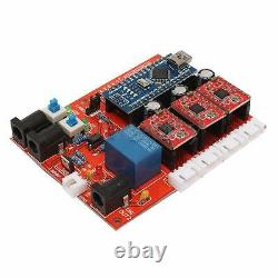 Mini 3 Axis CNC Router 1610 Engraving PCB PVC Milling Woodwork Carving @#