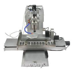 Mini CNC 3040 5axis 2200W Engraving Carving Router Metal Milling DIY CNC Machine