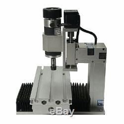 Mini CNC Router 1010 Vertical Engraving 500W 3axis Spindle Milling Machine