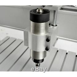 New 4 Axis 800W Desktop CNC Router Engraver Milling Engraving Machine 6040Z