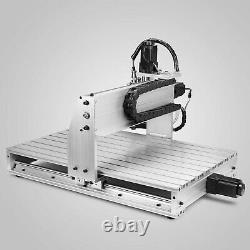 New Cnc Router 6040Z 3 Axis 1.5KW Engraving Machine Drilling Milling
