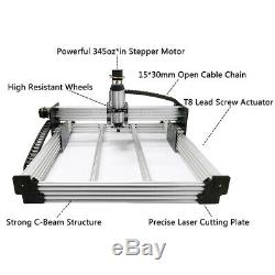 New Version 7510 WorkBee CNC Mill Machine Full Kit 4 Axis CNC Router Engraver