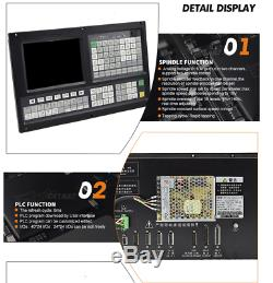 New panel 4 Axis CNC Controller for milling&router machine with G code &USB