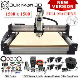 Newest 1515 WorkBee CNC Router 4 Axis Milling Machine with Tingle Tension System