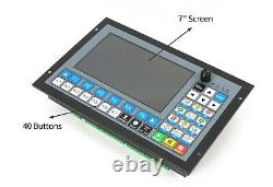 PLC Off-line CNC Motion Controller 4 Axis DDCS Expert For Router Milling Machine