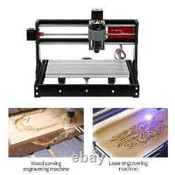Pro CNC 3018 Machine 3Axis Router Engraver Pcb Wood DIY Mill with ER11 X3X3