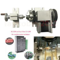 Rotary Axis Table Activity Tailstock 4th Axis CNC Router for CNC Milling Machine