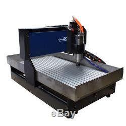 Steel 6040 4axis 2.2KW Engraving Router DIY Milling/Cutting Engraver Al Machine