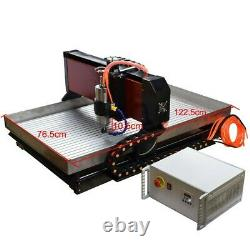 Steel CNC Engraving Machine Milling Router For Metal 4axis 2.2KW Cnc 6090