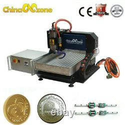 Steel CNC Router 3040 3Axis 2.2KW Milling Carving Engraving Machine&Linear Guide