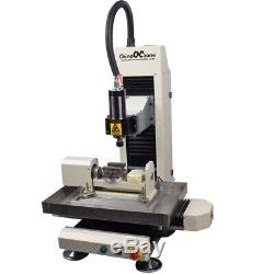 Steel Structure CNC 3040 5axis 2200W Metal Router Engraving Milling DIY Machine