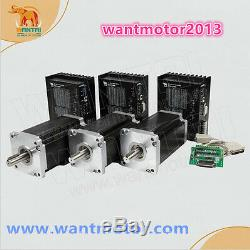 US free! Wantai 3Axis Nema42 Stepper Motor 3256oz CNC Engrave, Mill Cutiing Router