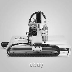 US stock 4axis CNC 6040 Router Engraver 3D Cutting Milling Machine Ball Screw