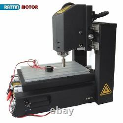 US3Axis 2030 110V Desktop CNC Router Engrave Cutting Mill Machine+400W Spindle