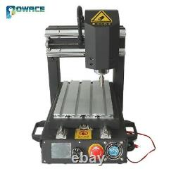 USA3 Axis 2030 Desktop Engraving Milling Machine 110V CNC Router+400W Spindle