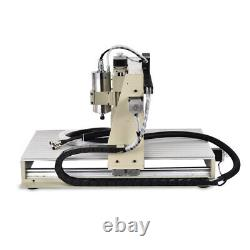 USB 1.5KW 5 axis 6040 CNC Router Engraver Cutting Metal Milling Wood Machine US