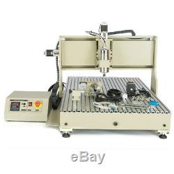 USB 1500W 4 Axis 6090 CNC Router Engraver Metal 3D Carving Milling & Drilling-US
