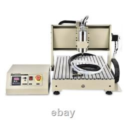 USB 3,4Axis CNC 3040/6040/6090/8050 Router Carving Engraving Machine 400W-2200W