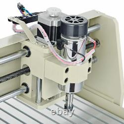 USB 3 AXIS 3040 CNC Router Engraver Wood Carving Engraving Drill Mill 400W