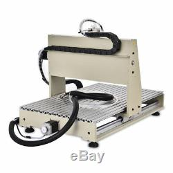 USB 3 Axis 1.5KW 6040 Router Engraver Woodwork Mill 3D Machine Ballscrew + RC