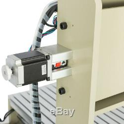 USB 3 Axis 6090 CNC Engraver Router Metal Wood Cutting Mill Drill Machine 1.5KW