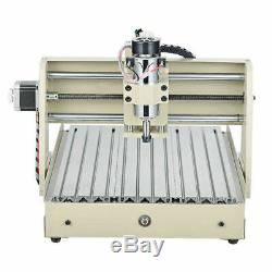 USB 3Axis CNC 3040 Router Engraver Wood Drilling Milling Machine 400W+Handwheel
