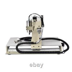 USB 4 Axis 1.5KW CNC 6040Z Router Engraver Metal Milling Machine WithHandwheel VFD