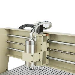 USB 4 Axis 1.5KW CNC 6090 Router Engraver Machine Mill Drill Metal VFD Cutter