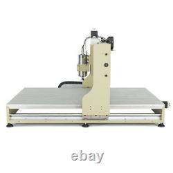 USB 4 Axis 2.2KW Spindle+VFD Engraver CNC 6090Z Router Milling ENGRAVING Machine