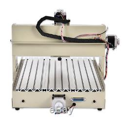 USB 4 Axis 3040T CNC Router 3D Engraver Engraving Drilling Milling Machine 400W