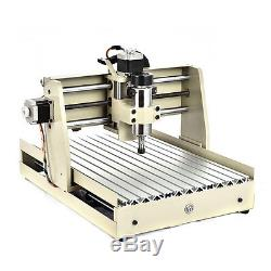 USB 4 Axis 400W 3040 CNC Router 3D Engraver Engravingi Wood Mill/Cutting Machine