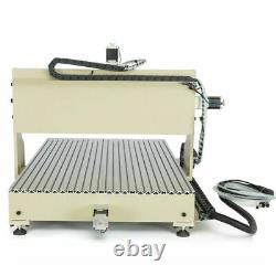 USB 4 Axis Router Machine CNC 6090 Engraving 2200W Drill Mill& remote controller