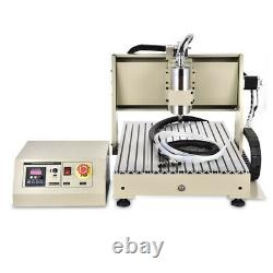 USB 4Axis CNC6040 Router Engraver Metal Drilling Milling Engraving Machine 1500W